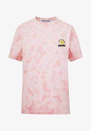 MIRO - T-shirts med print - tie dye pink