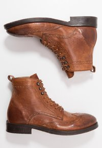 Hudson London - SHERWOOD - Lace-up ankle boots - tan - 1