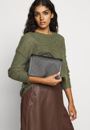 LOENNA - Handbag - dark chokolate