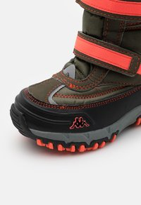 Kappa - BONTE TEX UNISEX - Winter boots - army/coral - 5