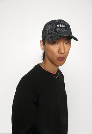 TOPOS PRINT UNISEX - Cap - black