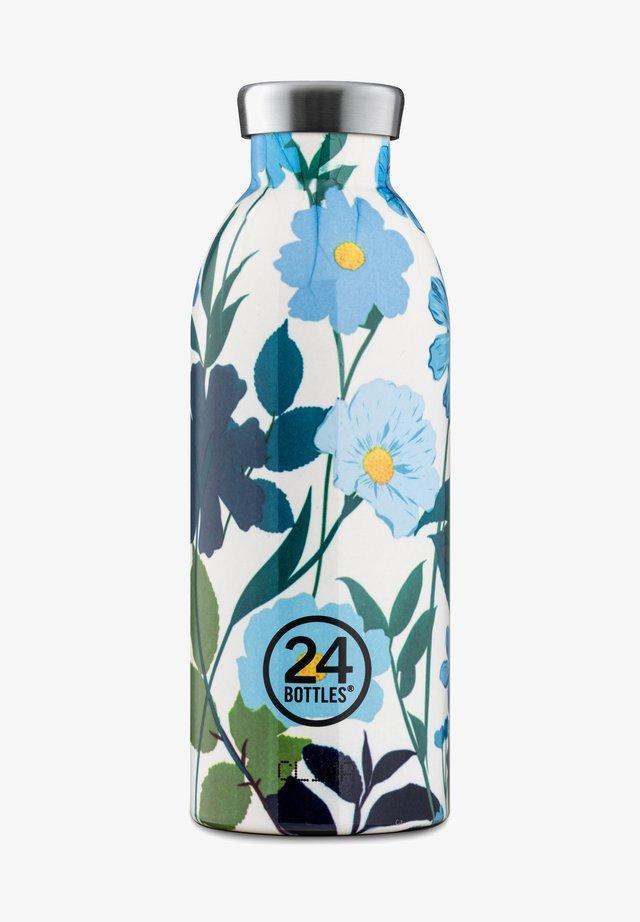 TRINKFLASCHE CLIMA BOTTLE FLORAL - Drink bottle - blau