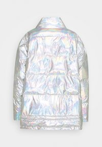 DESIGNERS REMIX - LUNGA PUFFER COAT - Winter coat - silver - 1