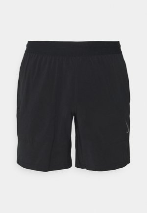 SHORT - Korte sportsbukser - black/gray
