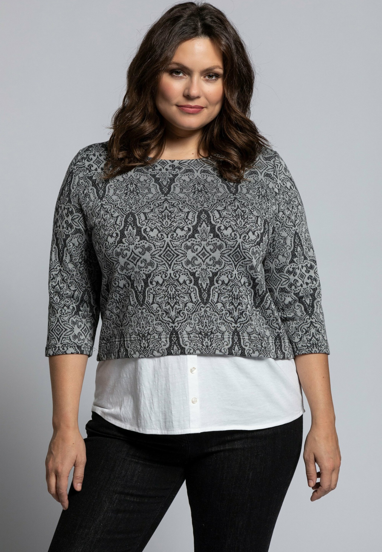 Femme JACQUARD STRETCH - Pullover