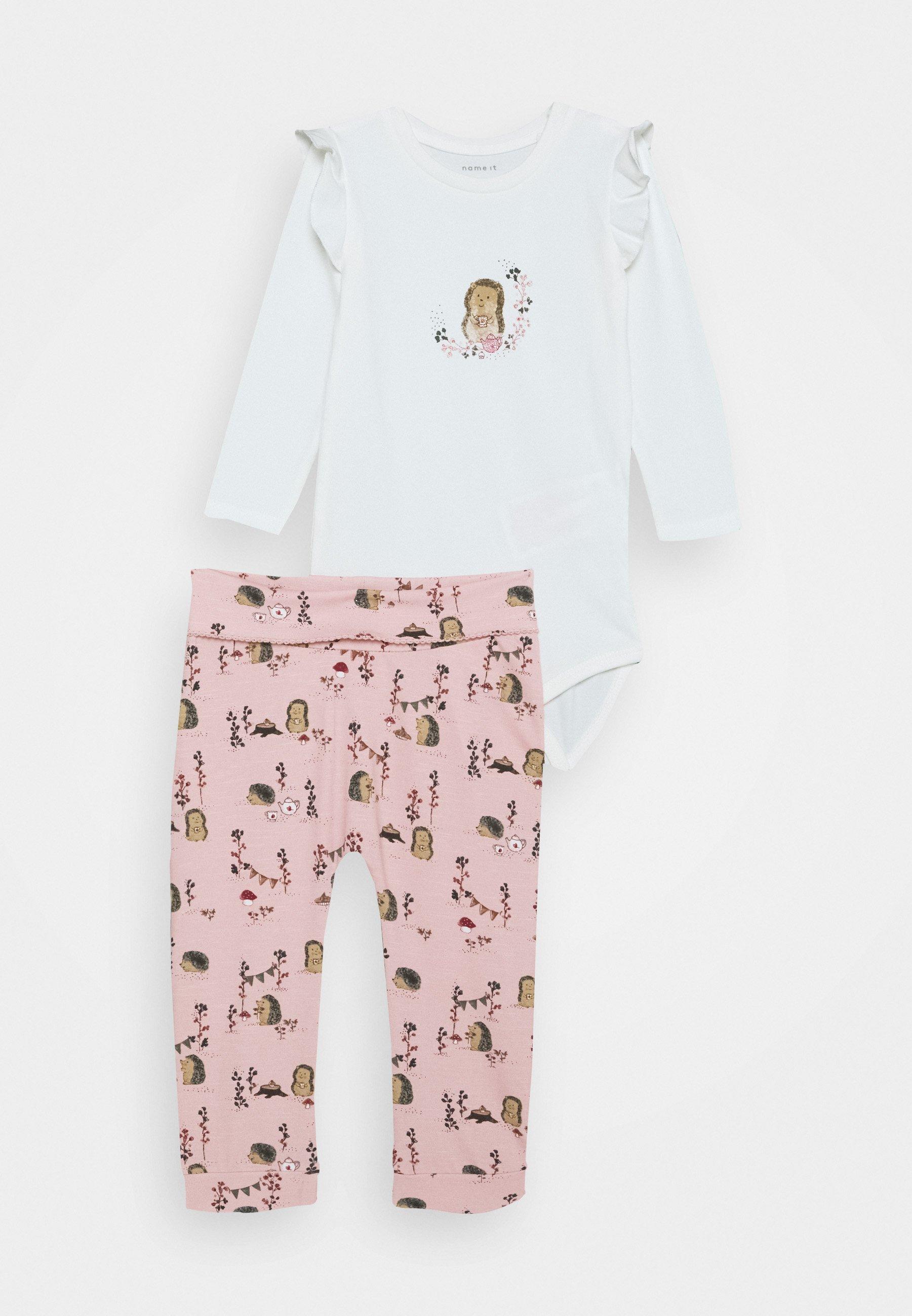 Kids NBFKAREN BODY SET - Leggings - Trousers