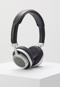 Master & Dynamic - MW50 WIRELESS ON-EAR - Koptelefoon - black/silver-coloured - 0