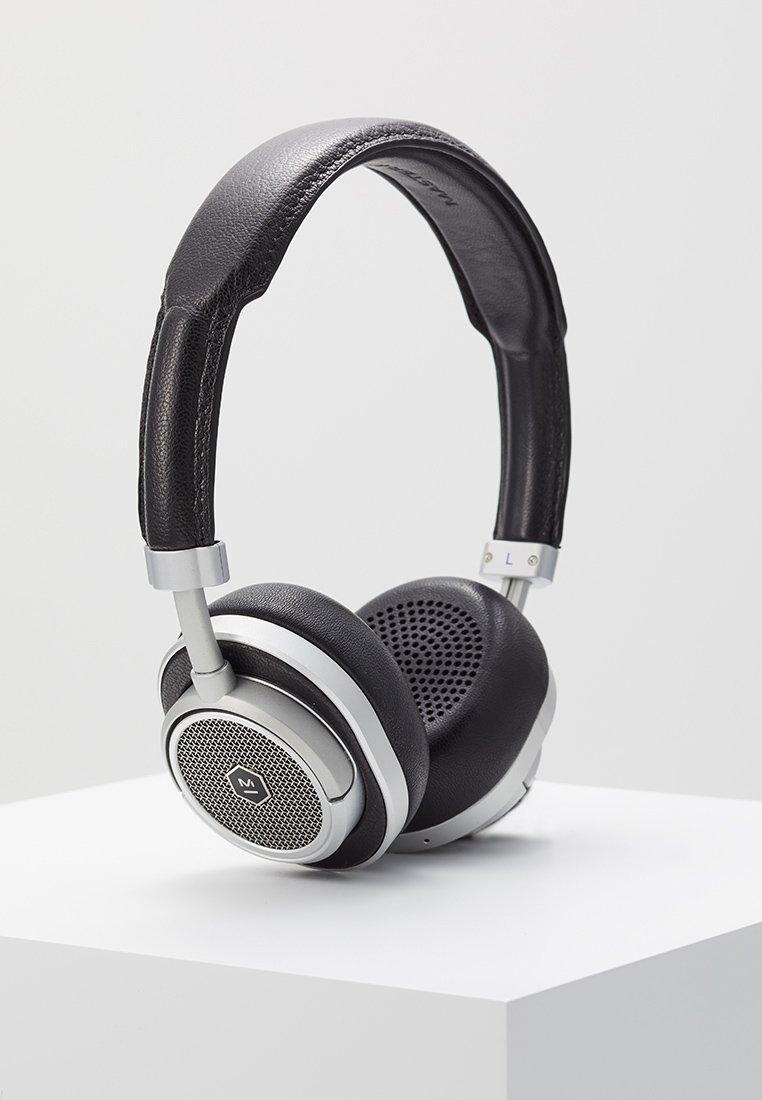 Master & Dynamic - MW50 WIRELESS ON-EAR - Koptelefoon - black/silver-coloured