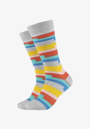 2 PACK - Socks - light grey mix