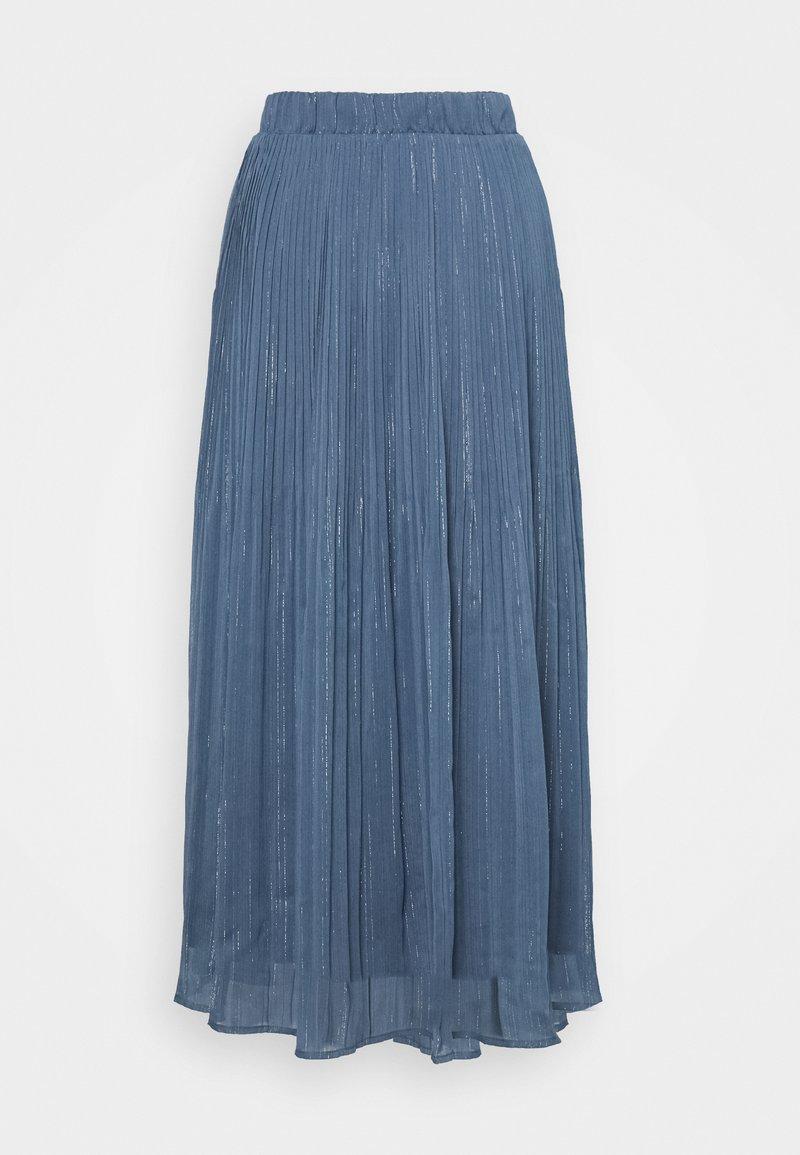 Bruuns Bazaar - SENNA CARMA SKIRT - Pleated skirt - riverside