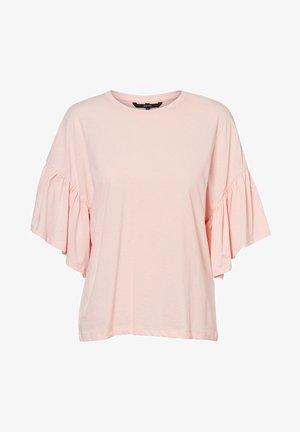 Print T-shirt - chintz rose