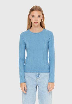 SCHLITZ - Long sleeved top - light blue