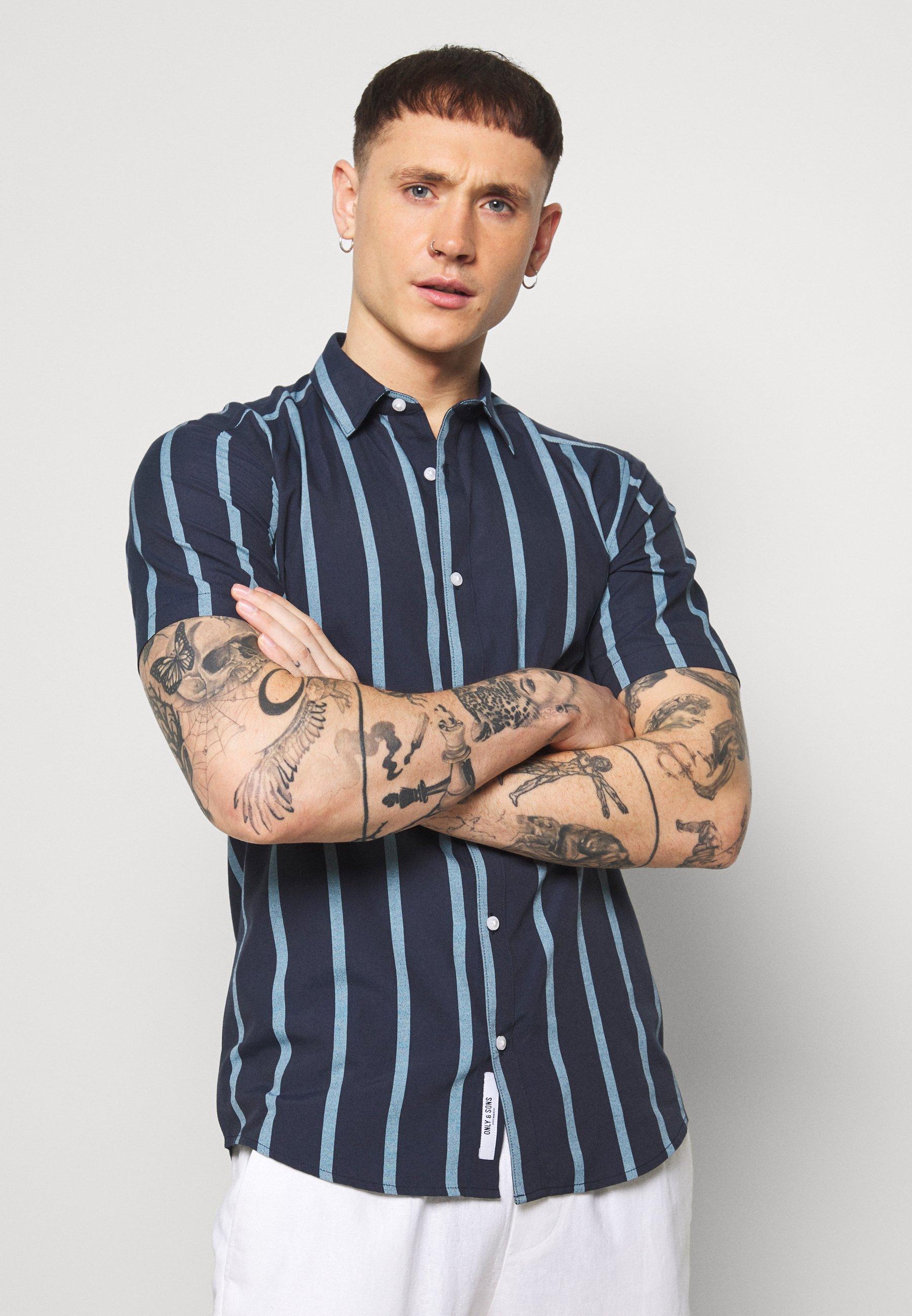 Uomo ONSTRAVIS LIFE STRIPED - Camicia