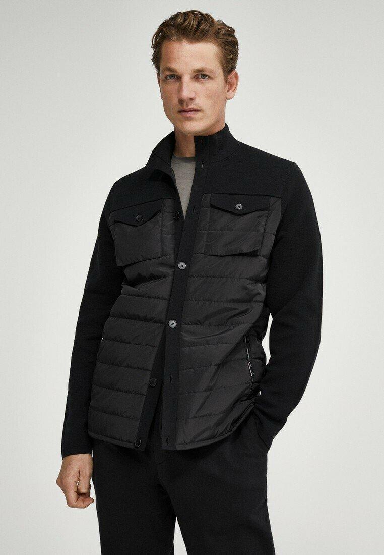 Massimo Dutti - Light jacket - black