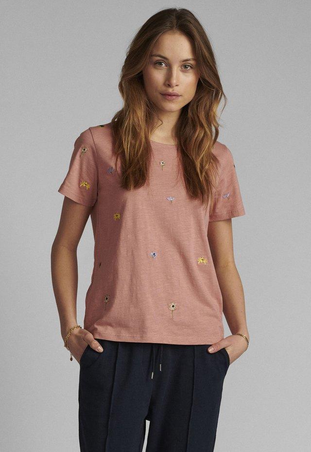 T-shirt basic - ash rose