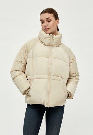 EDITH - Zimní bunda - oyster gray
