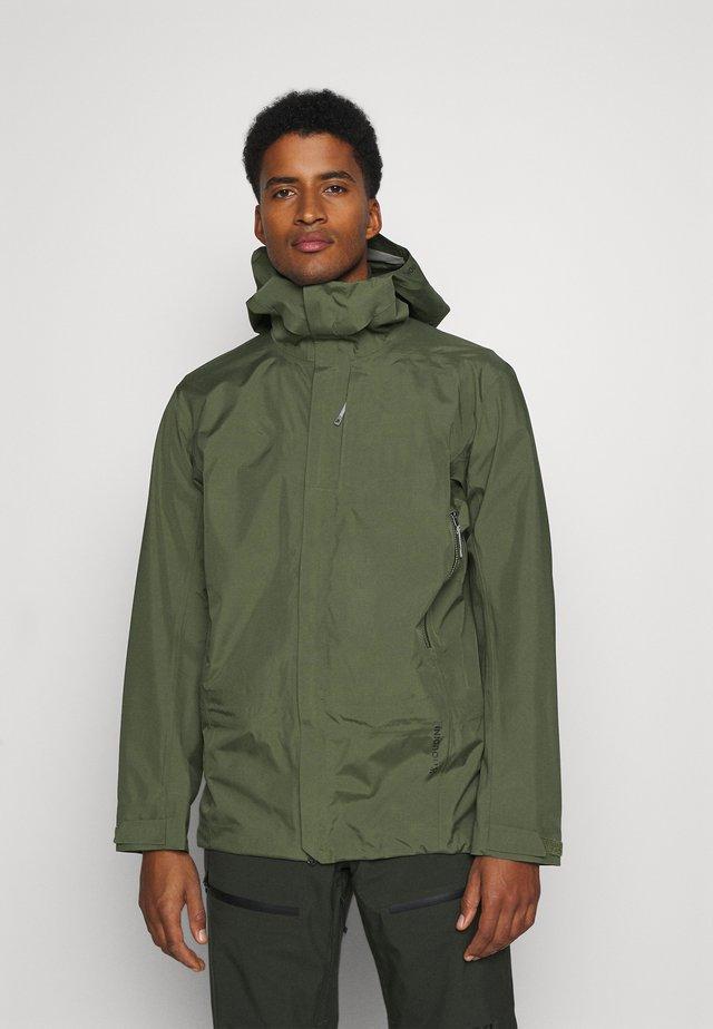 JACKET - Snowboard jacket - utopian green