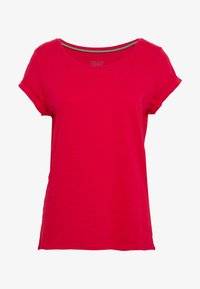 Esprit - CORE - Basic T-shirt - dark red - 4