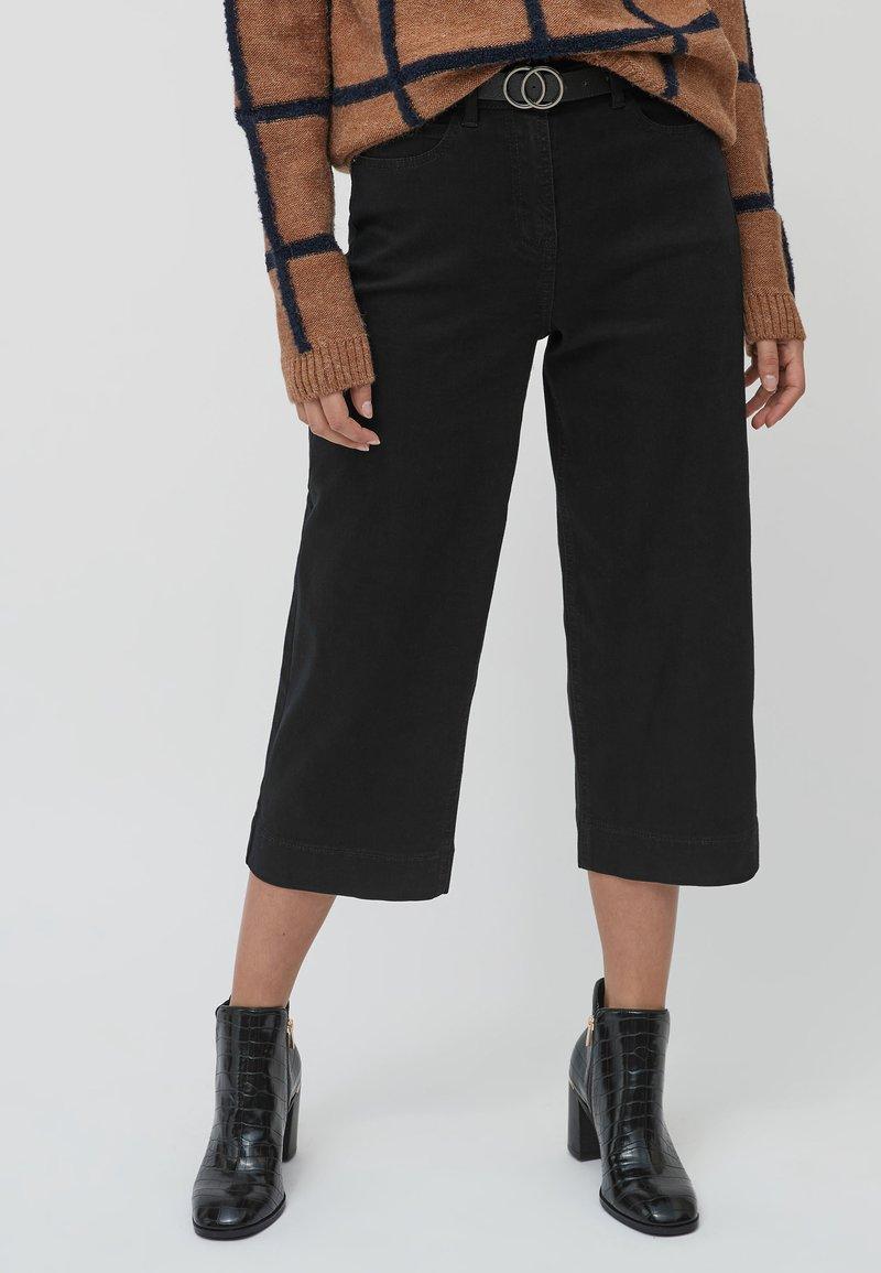 Next - Denim shorts - black