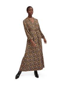 Scotch & Soda - PRINTED WRAPOVER DRESS - Maxi šaty - combo - 1