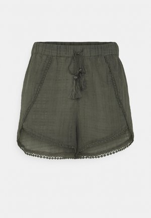 YASFULLA FEST - Shorts - olive night
