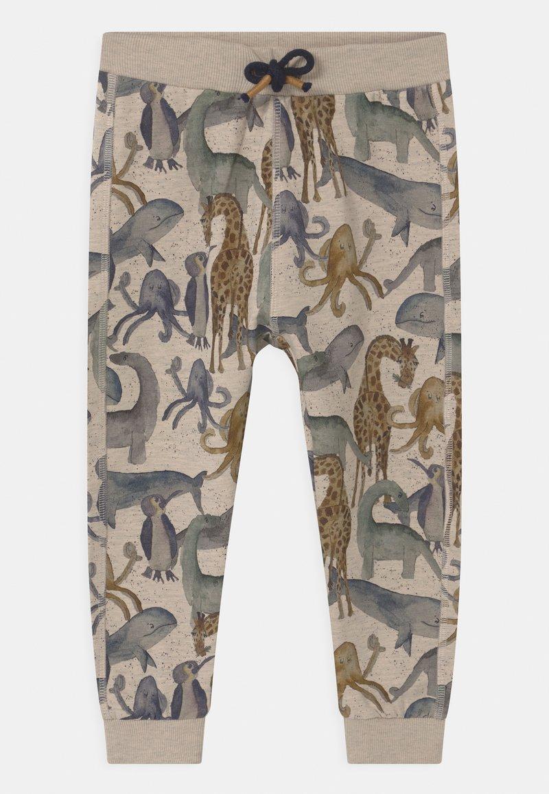 Name it - NMMFRALL - Teplákové kalhoty - peyote melange