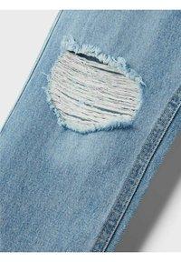 LMTD - HIGH WAIST - Slim fit jeans - light blue denim - 5