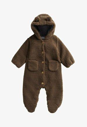 Hoodie - marrón