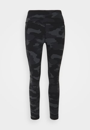 POWER 7/8 WORKOUT LEGGINGS  - Leggings - black