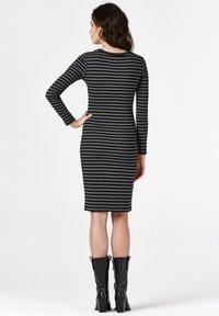 Supermom - STRIPE - Jersey dress - black - 2