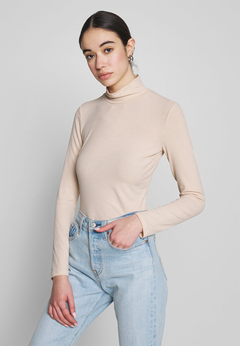 Nly by Nelly - Topper langermet - beige