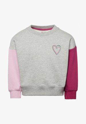 Sweater - ras light grey melange
