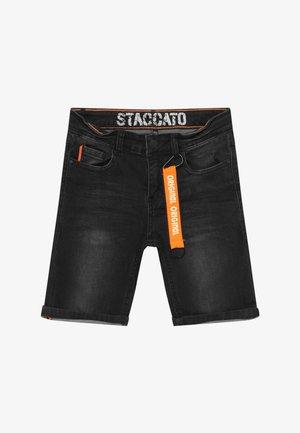BERMUDAS TEENAGER - Denim shorts - black denim