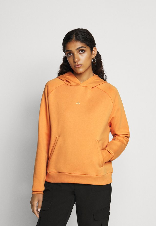 HANG ON HOODIE - Felpa con cappuccio - orange