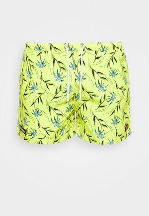 MANDRO - Swimming shorts - neon yellow