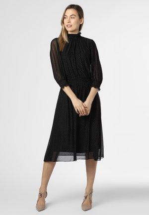 Robe d'été - schwarz silber