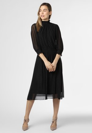 Day dress - schwarz silber