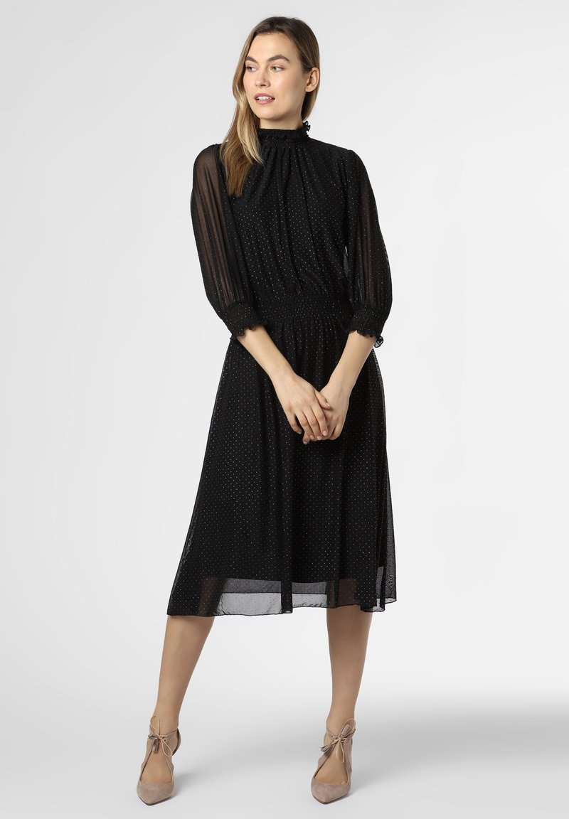 BOSS - Day dress - schwarz silber