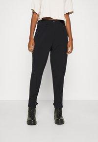 Nümph - NUMELISANDE PANT - Trousers - caviar - 0