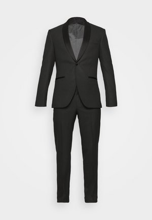 RECYCLED TUX SLIM FIT - Suit - black
