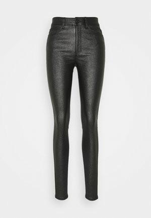 NMCALLIE PANTS - Jeans Skinny Fit - black/shimmer