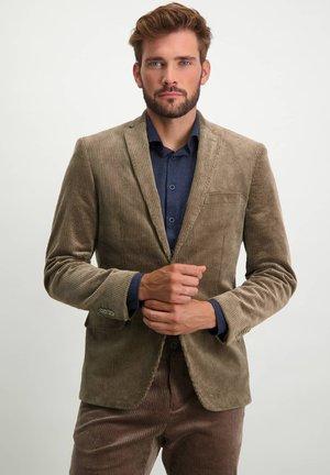 Blazer jacket - sepia plain