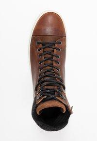 Bullboxer - Höga sneakers - brown - 1