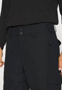 Quiksilver - PORTER - Snow pants - true black - 3