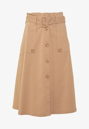 EXCLUSIVE SUMMER SKIRT - A-line skirt - desert
