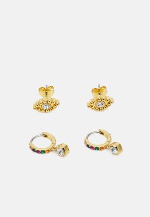 EARRING SET 2 PACK - Earrings - gold-coloured/multi