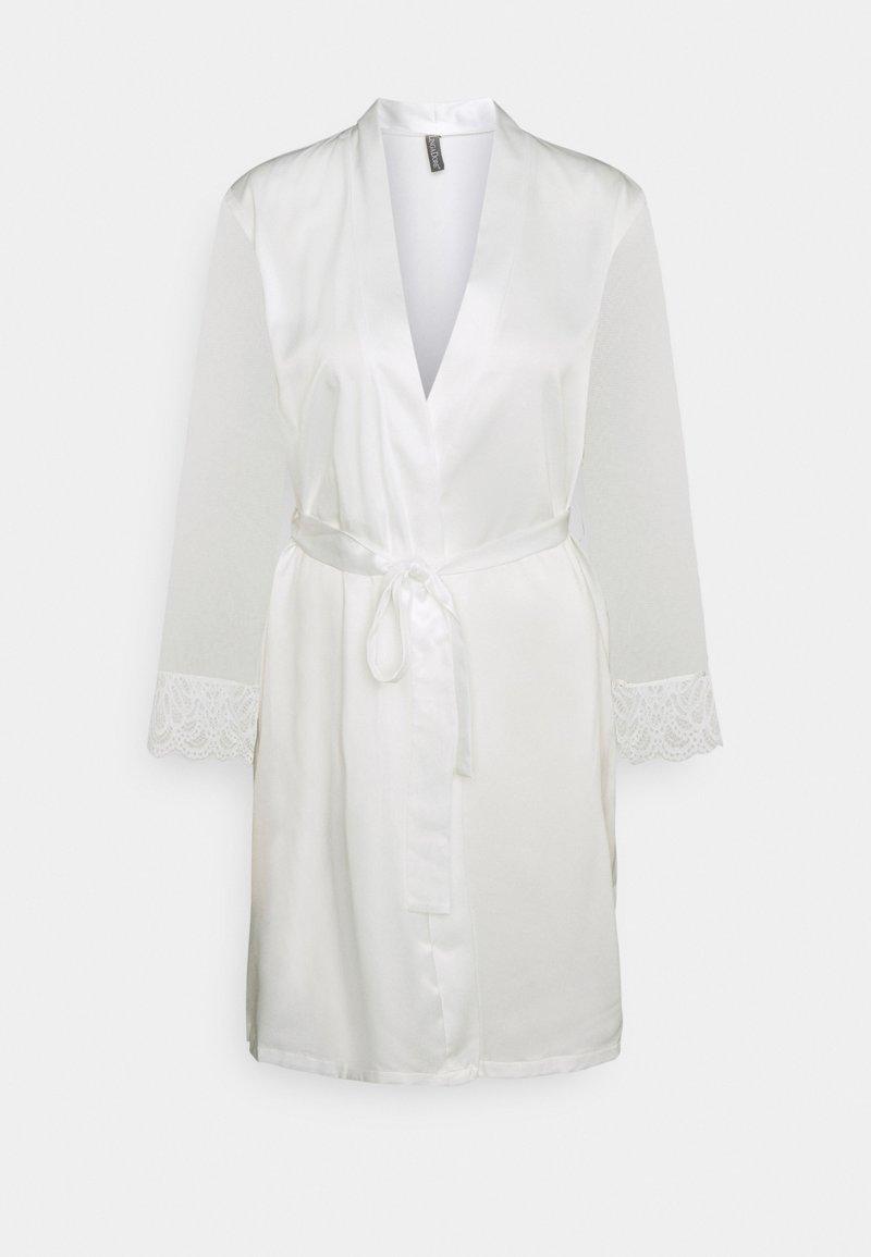 LingaDore - KIMONO - Dressing gown - snow white