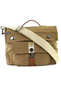 Camp David - OLD HARBOR BUSINESS CROSSOVER - Briefcase - sand - 4