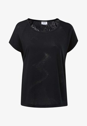 BURNOUT TEE - T-shirt basique - black