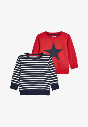 2 PACK - Sweatshirt - red